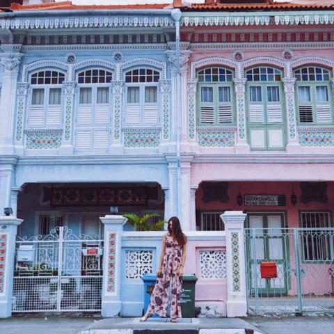 Pretty Peranakan Terrace Houses