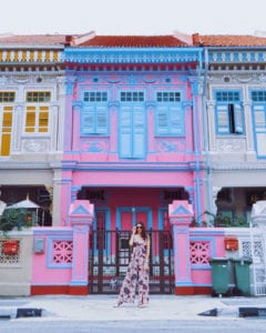 Peranakan Terrace Houses