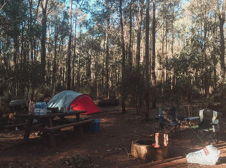 camping-tonys-bend-dwellingup